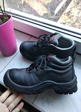 Ботинки,оригинал✓ботинки рабочие с металлическим носком. спецобувь.