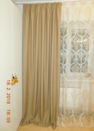 Шерстяные шторы + тюль с рисунком дамаск4 фото