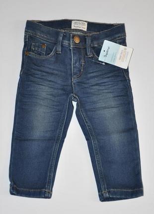 Демисезонные джинсы для мальчика impidimpi на рост 74-80