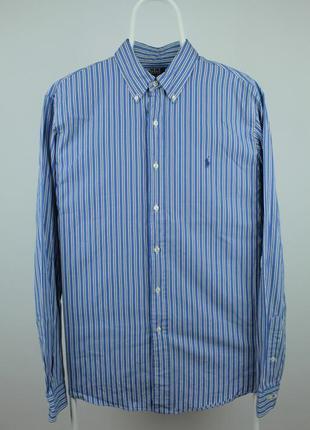 Оригинальная стильная рубашка polo ralph lauren размер л