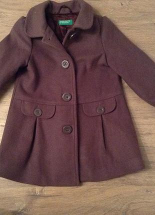 Тёплое пальто для вашей крошки