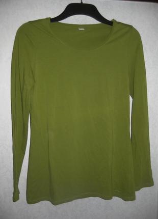 Джемпер водолазка оливковая зелёная s.oliver