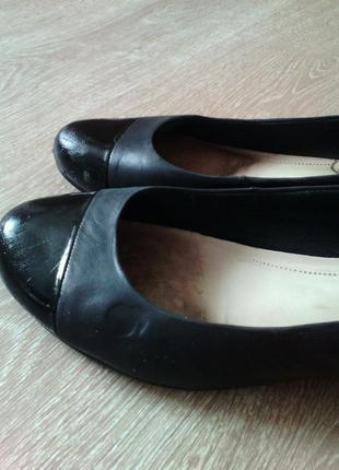Туфли лодочки из натуральной кожиvagabond