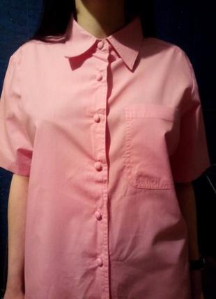Рубашка от бренда damart. вторая вещь минус 50% скидка!