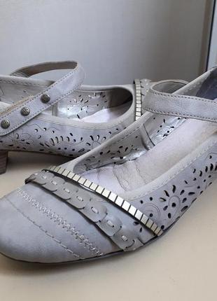 41 р. rieker.  комфортные немецкие туфли