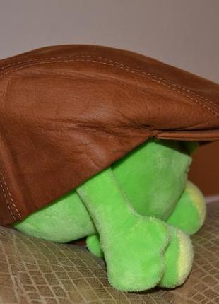 Кожаная кепка astra (италия).