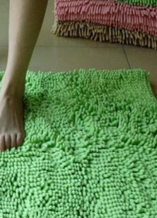 """Набор ковриков из микрофибры """"макароны"""" бесплатная доставка нп!!!"""