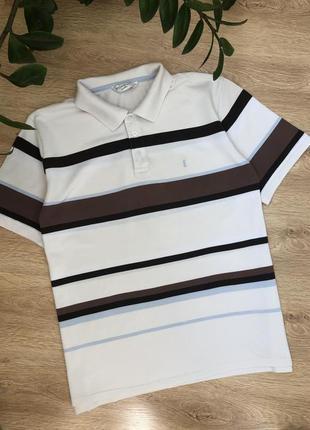 Стильная трикотажная рубашка/тенниска/футболка-поло xl- хxl