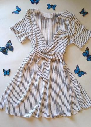Красивое платье в полоску primark