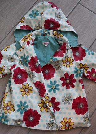 Куртка плащик для дівчинки 1-1,5. розмір 86
