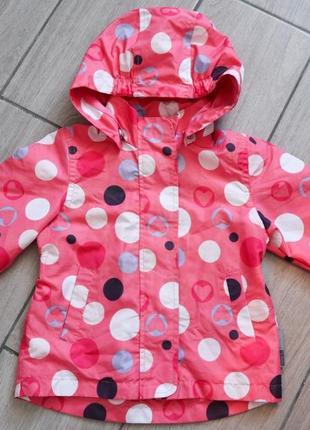 Куртка вітровка для дівчинки 1-1,5.розмір 86