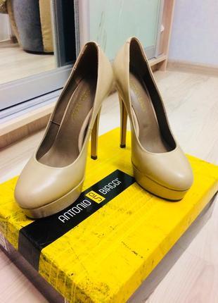 Туфли кожаные antonio biaggi