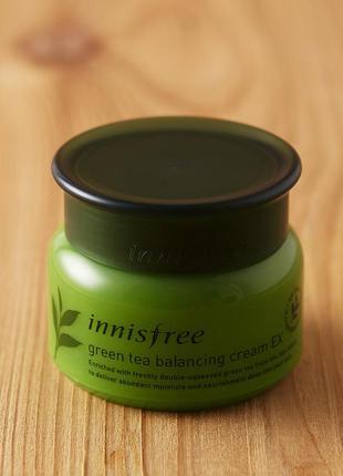 Балансирующий крем для лица с экстрактом зеленого чая от innisfree