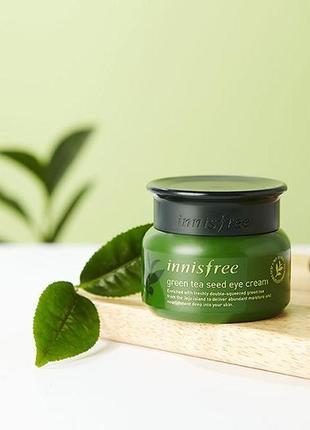 Крем для кожи вокруг глаз на основе семян зеленого чая от innisfree