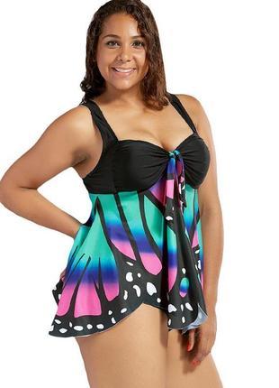 Купальник блуза плавки,большой размер