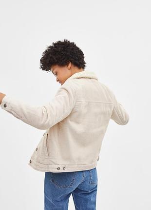 Вельветовая куртка косуха джинсовка