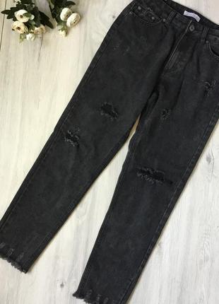 Фирменные джинсы с высокой посадкой nice chic c598a298ba2d1