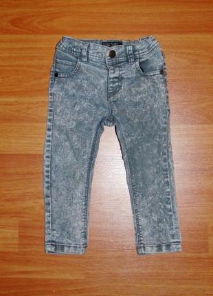 Стильные серые джинсы next,некст,скинни,узкачи,12-18 мес.,86,1-1,5 года состояние новых
