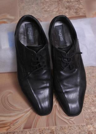 """Кожаные туфли """"bugatti"""""""