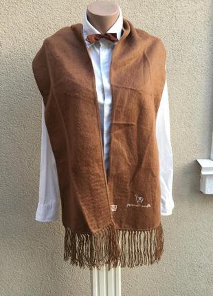 Мягкий,пушистый шарф с бахромой,эксклюзив,100%альпака6