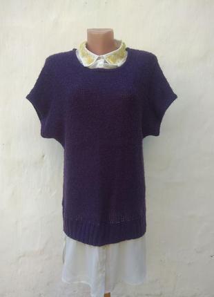 Полувер, блуза, рубашка, безрукавка с рубашкой, декорированный камнями, next