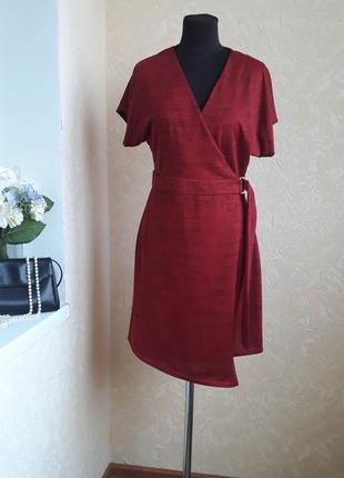 Платье на запах redhering