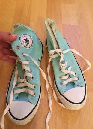 Кеды ботинки converse