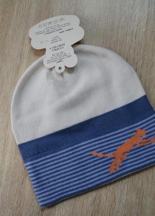Модная шапка на 40-48 см