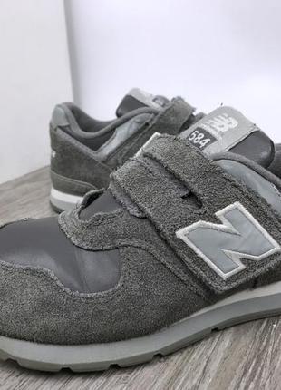 Актуальные кроссовки на липучке new balance 584