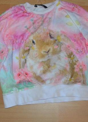 Кофта свитер с кроликом