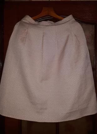 Невероятная юбка миди h&m с карманами