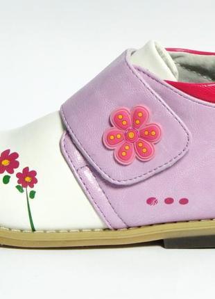 Демисезонные осенние весенние утепленные ботинки черевики для девочки  b&g little deer