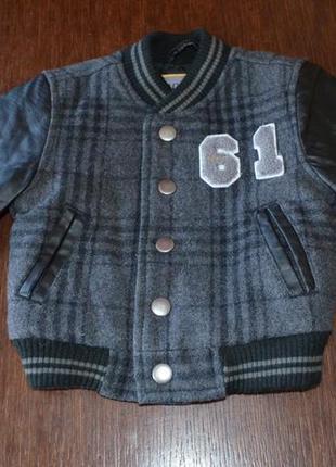 Куртка next( vintage)  3-6 мес ( 68 см).