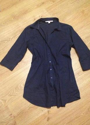 Стильная блуза рубашка котон / tally weijl / s