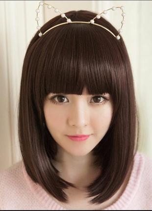 7.женский парик из искусственных волос