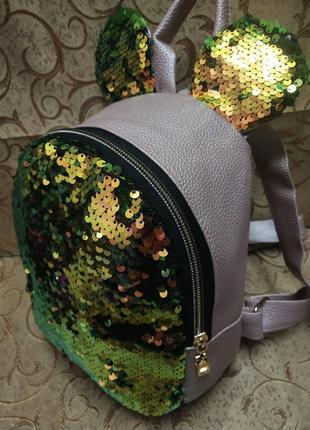 Женский рюкзак эко-кожа д14