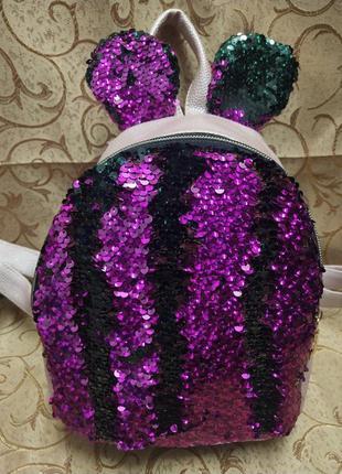 Женский рюкзак эко-кожа д162 фото