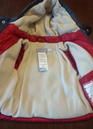 Куртка boboli 1 мес( 56 см).3 фото