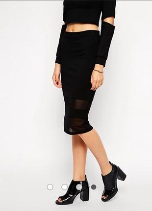 Элегантная юбка карандаш миди  lavish alice р. m