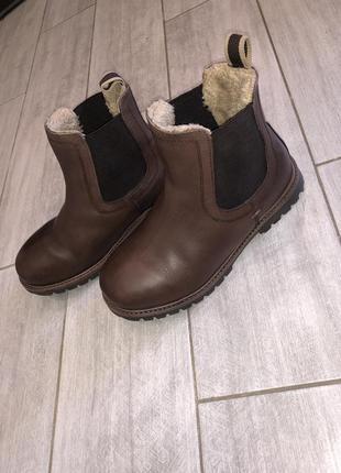 Стильные , демисезонные ботинки , челси next размер 1