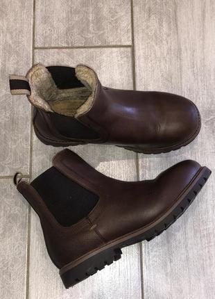 Стильные , демисезонные ботинки , челси next размер 12