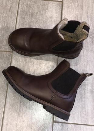 Стильные , демисезонные ботинки , челси next размер 13