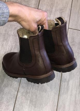 Стильные , демисезонные ботинки , челси next размер 14