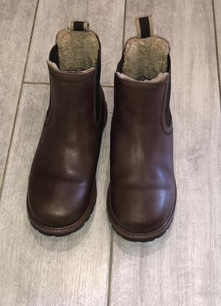 Стильные , демисезонные ботинки , челси next размер 16