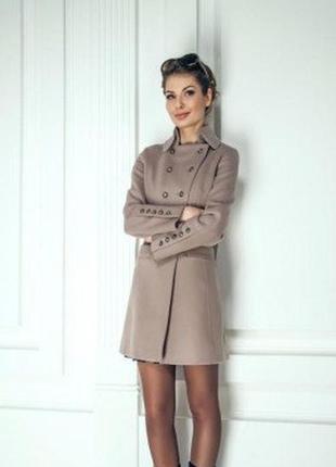 Демисезонное кашемировое пальто season, 36 размер
