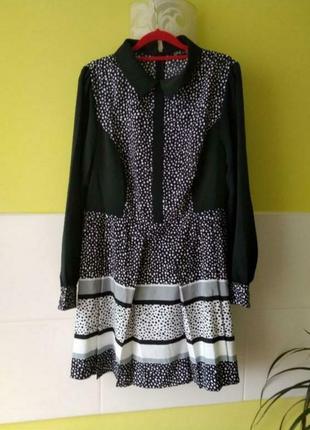 Милое платье сукня 👗 в горошек от love label1