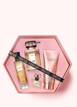 Парфюмированный подарочный набор victoria's secret/духи/парфюм