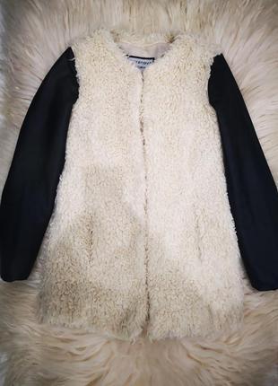 Пальто с искусственного меха