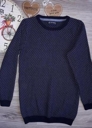 Next удлиненный классный джемпер свитер 134 см-140