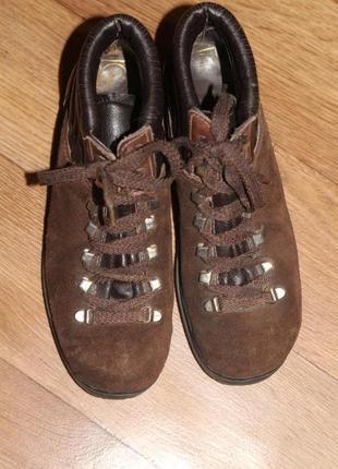 Треккинговые ботинки замша skywalk bavaria 37-38 разм